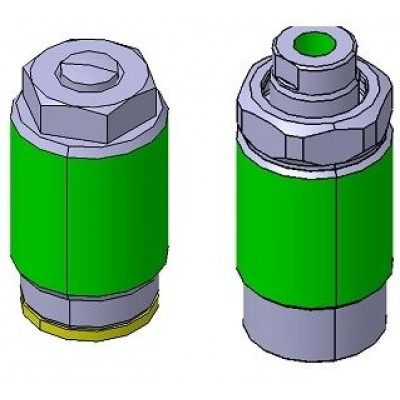 (NEW) THREADED BODY CYLINDER-MANIFOLD TYPE