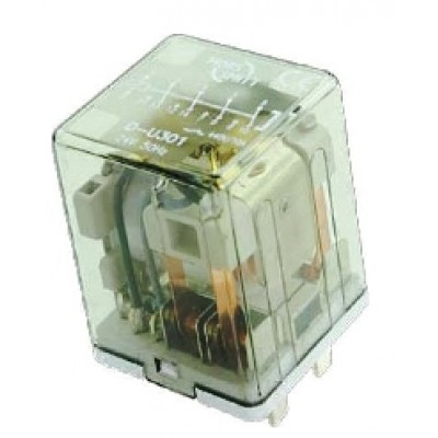 D-U300 relay - Plug-in, 4 pole, AC coil