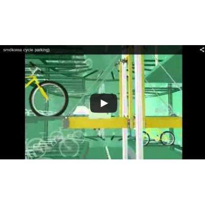 Cycle parking system (카메라 이동 애니메이션)