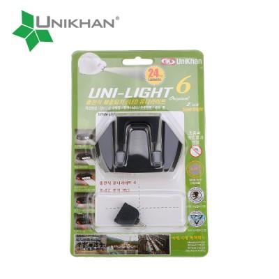 유니라이트6 (UNI-LIGHT 6 충전식 해충퇴치 6LED 유니라이트)