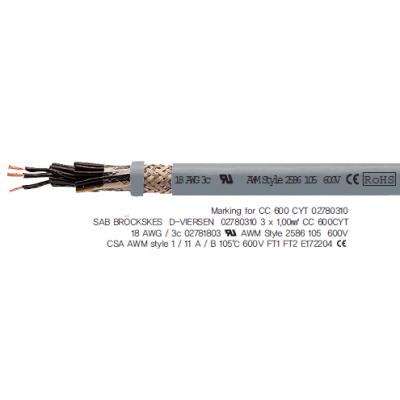 CC 600 CYT _Flexible Control cable