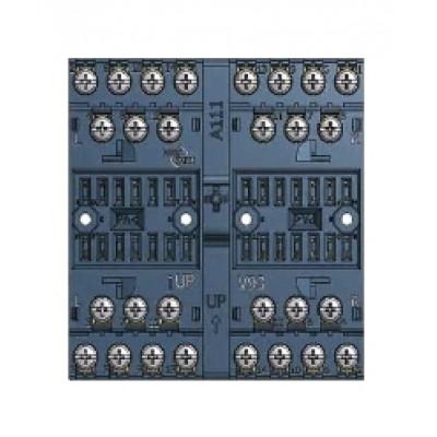 V93 socket - Screw terminal, wall/rail mount 8 pole