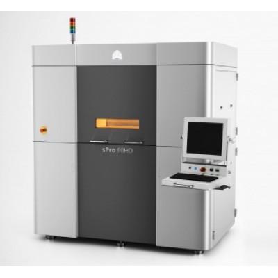 sPro 60 - 우수한강도의 기능성 부품을 제작하는 산업용 SLS 3D 프린터