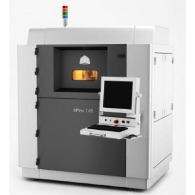 sPro 140 - 우수한 강도의 기능성 부품을 제작하는 산업용 SLS 3D 프린터