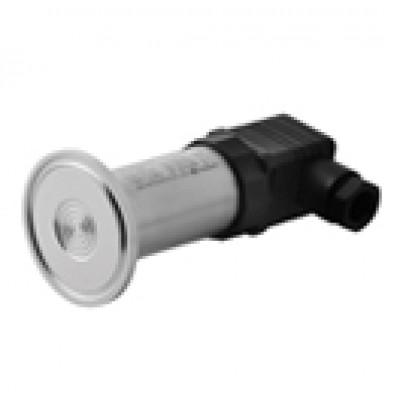 압력전송기 ( Pressure Transmitter ) 새니터리용 압력트랜스미터, 플러시 다이아프램 압력센서, ±0.25% , 2-wire 4~20mA , 0~0.5...0~70 bar, Zero-Span Adjustment, DIN 플러그, 컨넥터