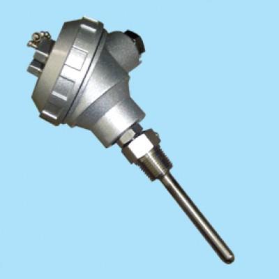 온도전송기 ( Temperature Transmitter ) HVAC 산업용 온도트랜스미터, 배관용  프로브 삽입형 , 파이프 삽입형, 온도센서 탑재형 , ±0.2% , 2-wire 4~20mA
