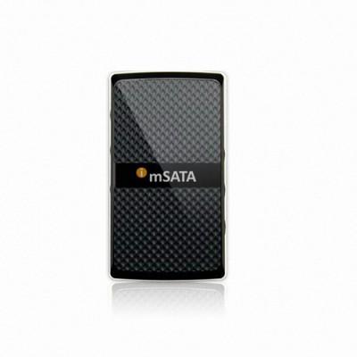 리뷰안 i-mSATA USB300/mSATA SSD용 USB3.0케이스/외장형 SSD케이스/초소형 슬림사이즈/미니사타케이스