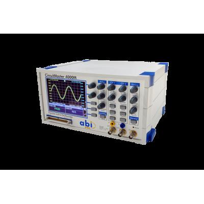(ABI) 오실로스코프와 커브트레이서 일체형 계측기 CircuitMaster4000M, 2x100Mhz DSO, Voltmeter, FG, 2Ch V/I Curve Tester