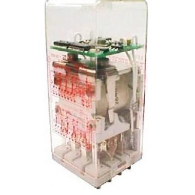 TBAA-400 relay - Delay-on pull-in, 4 C/O