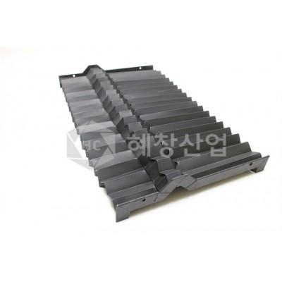 공작기계용 각형자바라/각형BELLOWS/기계카바/벨로우즈/보호커버/칩커버