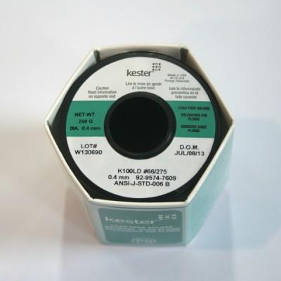Kester KT9 [무연솔더 K100LD 275/66 Sn99.3%Cu0.7% 0.4mm 250g]