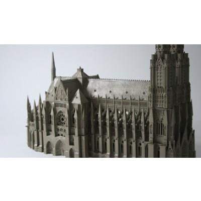 건축모형_노트르담 성당 / Architectural model_ Cathedral Notre-Dame